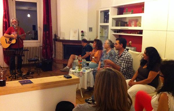 L'house concert di Giuseppe De Chirico, sincerità, intimità e condivisione